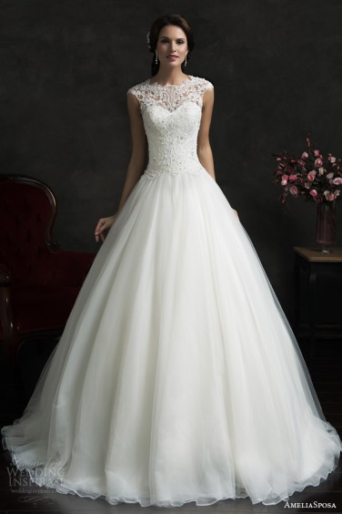 amelia-sposa-2015-bridal-monica-lace-bodice-cap-sleeve-ball-gown-wedding-dress